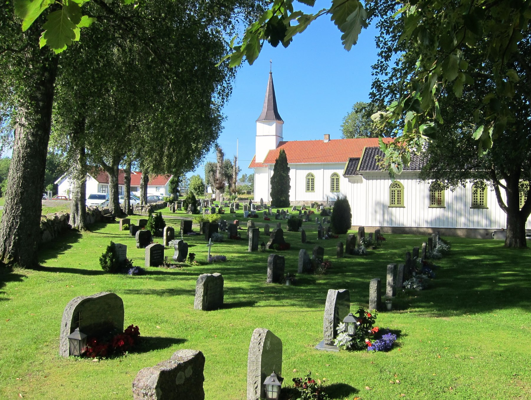 Frodig ved Nordby kirke