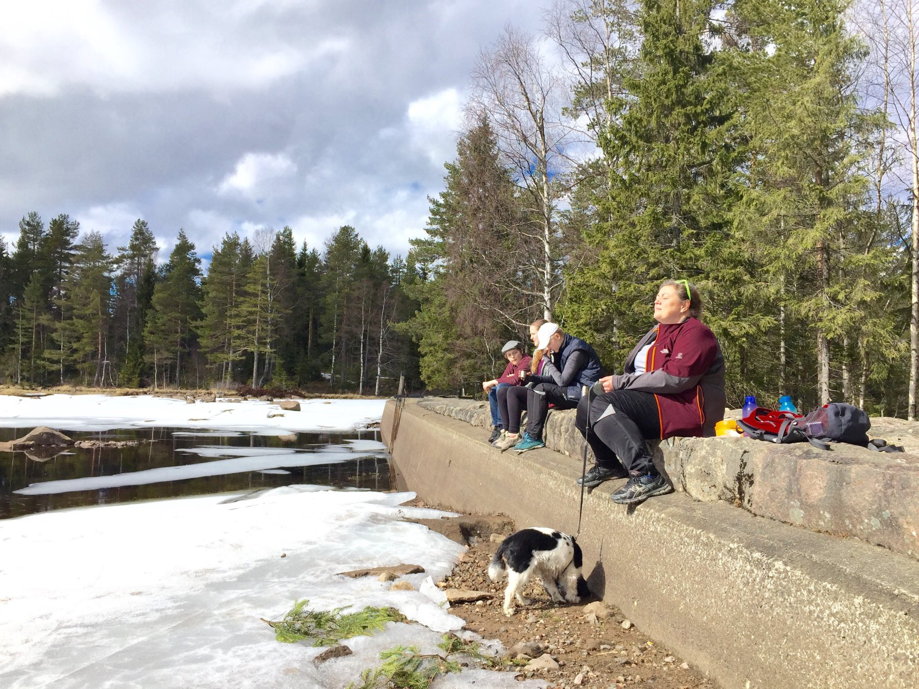 Solpause ved Langvann